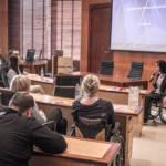 Przemówienie koordynator projektu, podziękowanie za udział w spotkaniu