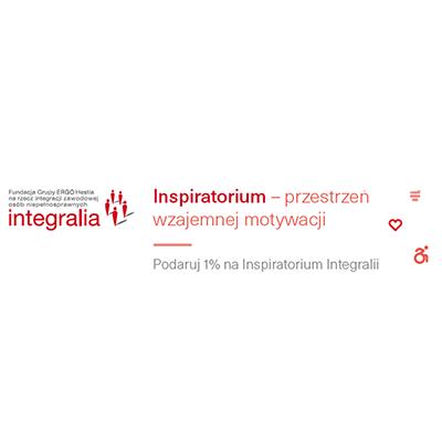 Inspiratorium - 1% podatku - plakat
