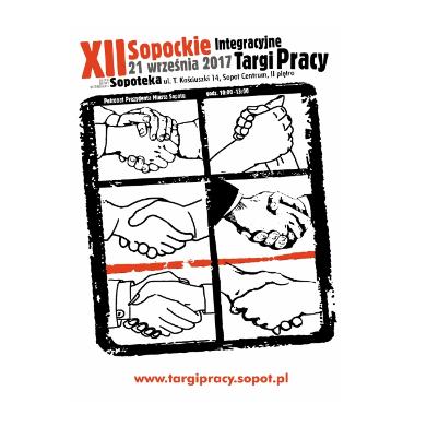 plakat 12. Sopockich Integracyjnych Targów Pracy