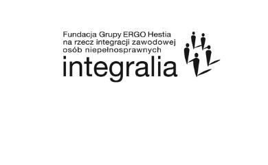 logo fundacji integralia w wersji monochromatycznej
