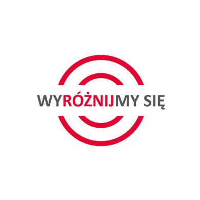 logo programu WYRÓŻNIJMY SIĘ