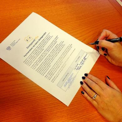 Podpisasany dokument Partnerstwo na rzecz dostępności